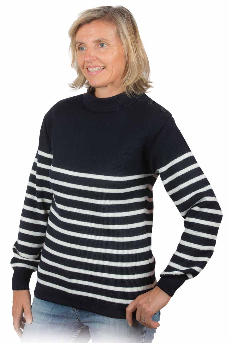 pull marin femme miss gle fabricant de pull marin. Black Bedroom Furniture Sets. Home Design Ideas