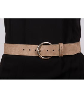 Ceinture Cuir LOISA - Missègle: Fabricant d'accessoires Made in France