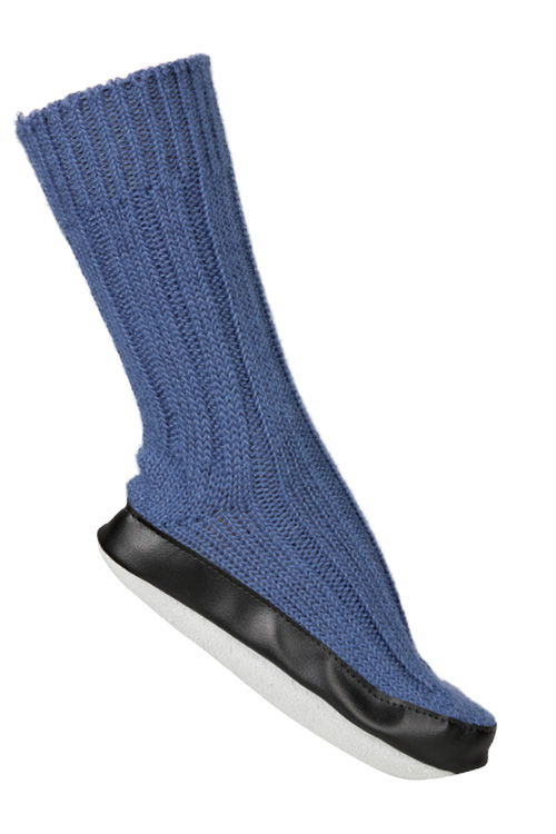 86871522399 Chausson Chaussette Bleu Jean - Missègle  chaussons chaussettes made in  France