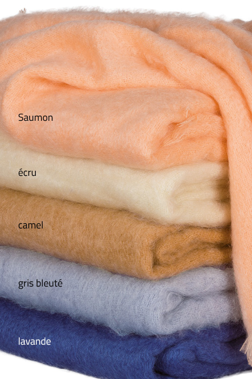 Couverture mohair Grand Lit 2 places