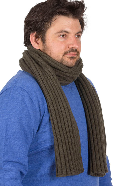 pas cher baskets mode la plus désirable Echarpe laine mérinos homme