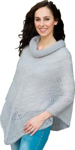 Poncho mohair - Missègle: fabricant de pull mohair Made in France