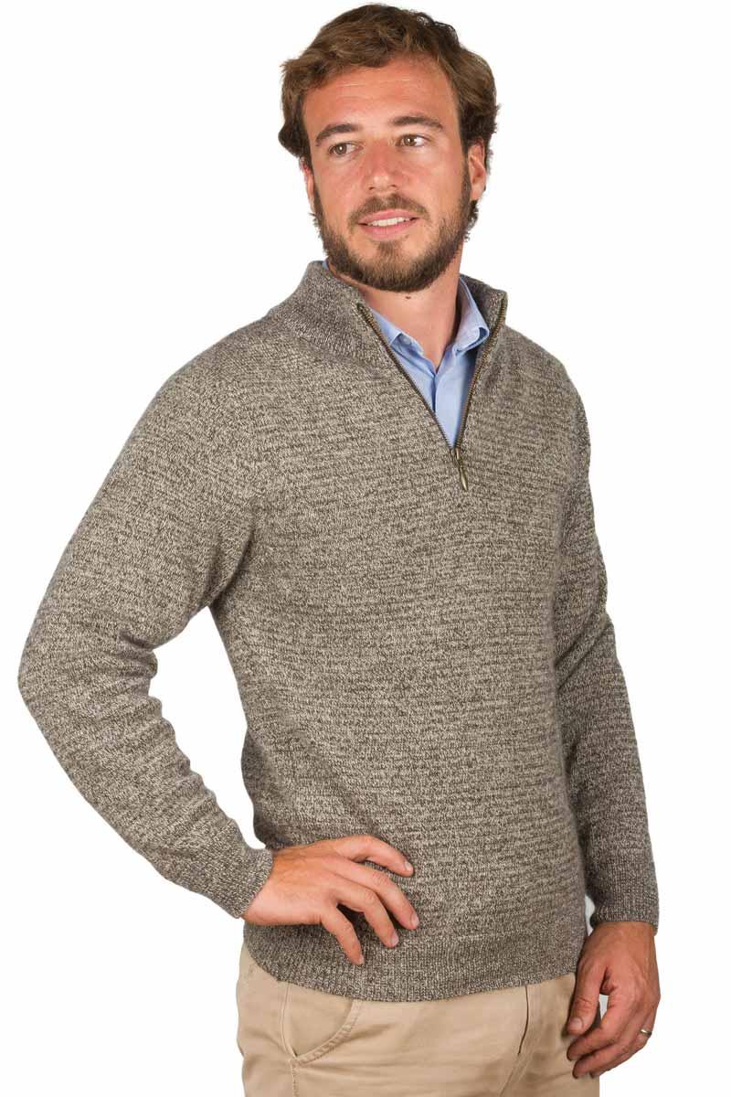 pull laine homme yack col zipp miss gle fabricant de pull en laine homme. Black Bedroom Furniture Sets. Home Design Ideas