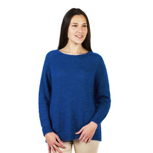 Pull laine jersey col rond - Missègle: fabricant de pull en laine Made in France