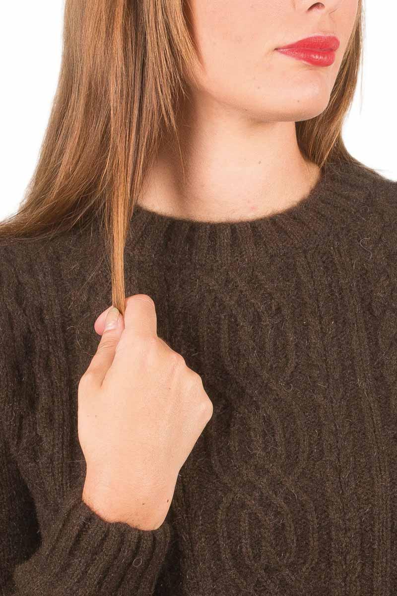 site réputé 32d82 67156 Pull en laine yack irlandais