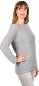 Pull  mohair manches longues - Missègle: fabricant de pull en mohair Made in France